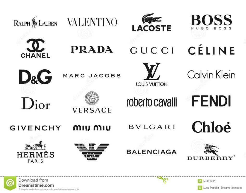 Image result for famous designer logos | Jewelry brand ...