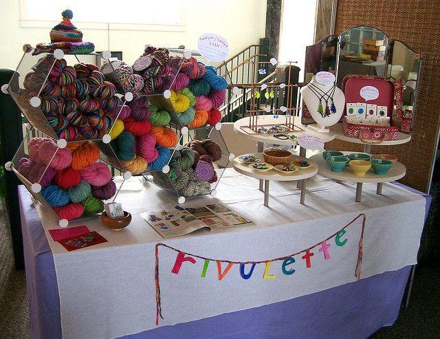 Queen City Craft Bazaar Display