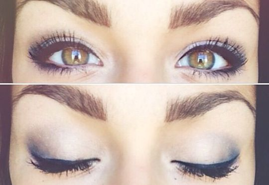 andrea russett makeup actually want her eyes make up pinterest. Black Bedroom Furniture Sets. Home Design Ideas