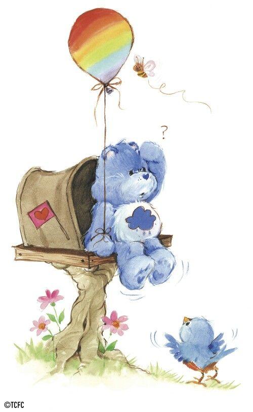 Care Bear Grumpy Bear Thank You Am B A Mummy And Nannie Said I Am