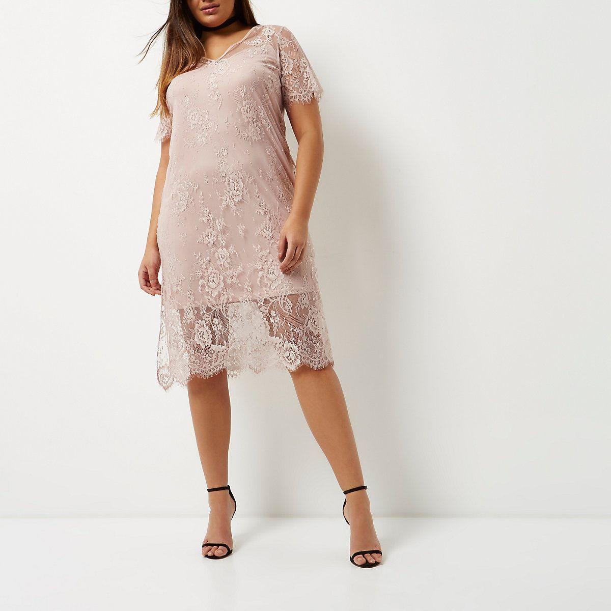 Plus Light Pink Lace Dress Light Pink Lace Dress Lace Pink Dress Dresses [ 1200 x 1200 Pixel ]