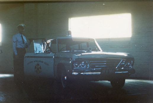 Studebaker police car  1964 Victoria Australia | Highway Patrol