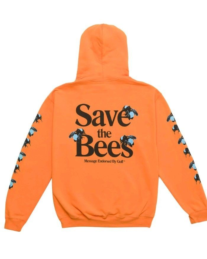 d5a6c3c0adf32f Tyler the Creator Golf Wang Save the Bees Hoodie Medium Brand New in hand   GolfWang  Hoodie