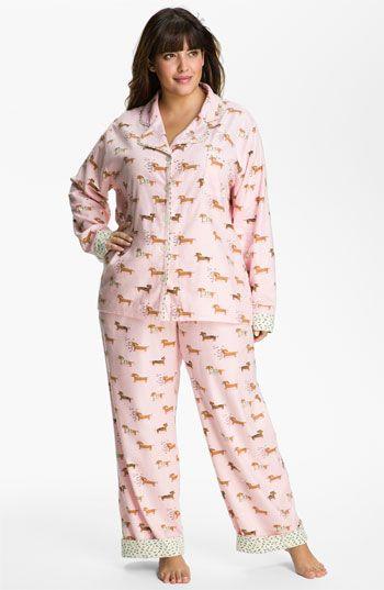 Munki Munki Print Flannel Pajamas Plus Available At