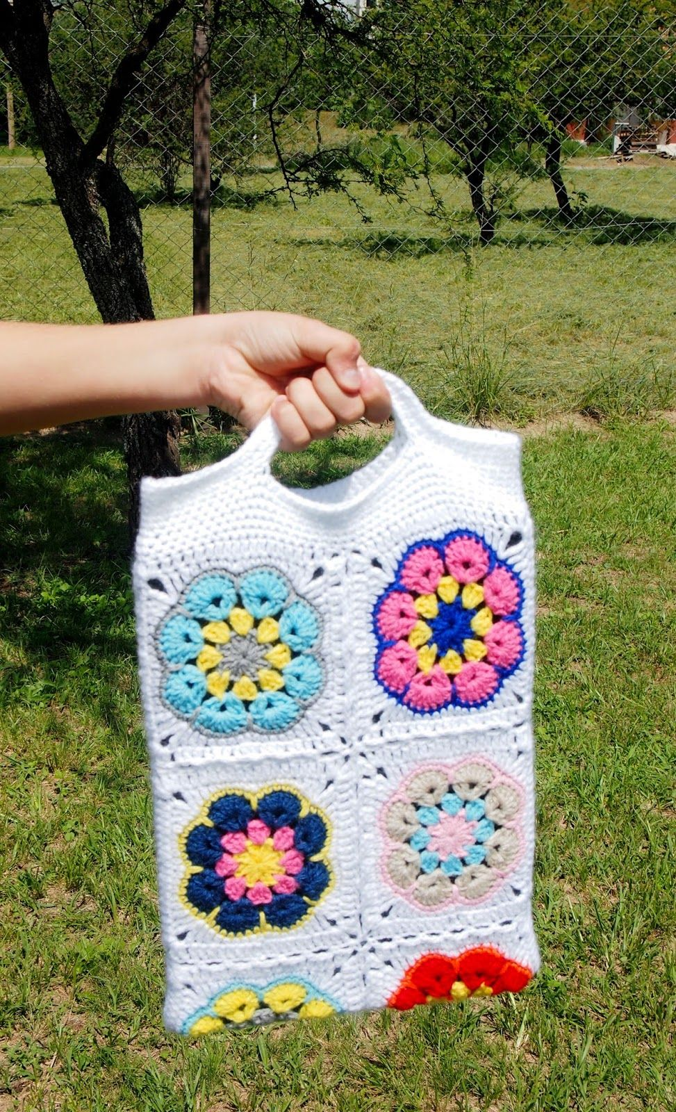 Sol de Noche {deco crochet}: How to crochet a Laptop Case   Crochet ...