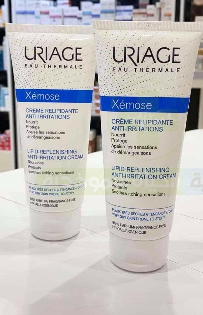 Uriage Cream Shampoo Bottle Cream Skin