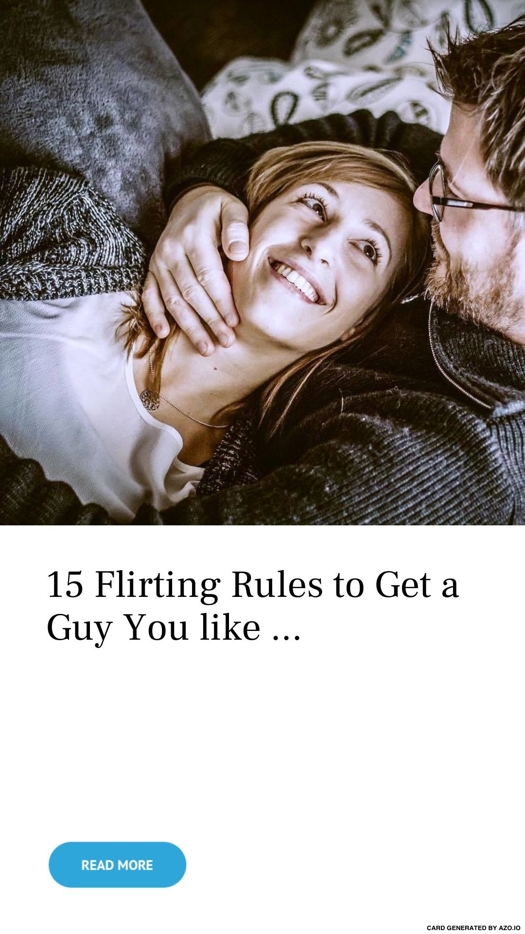 15 Flirting Rules to Get a Guy You like  | Flirting