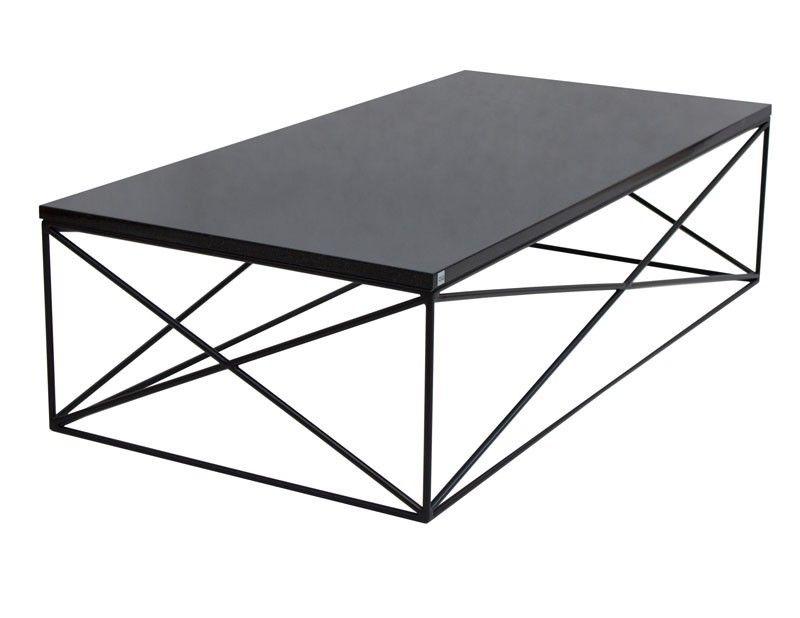 Minimalistyczny Stolik Kawowy 1359zl Czarny Mat Podstawa Mdf Lakierowany Mat Blat Coffee Table Table Furniture