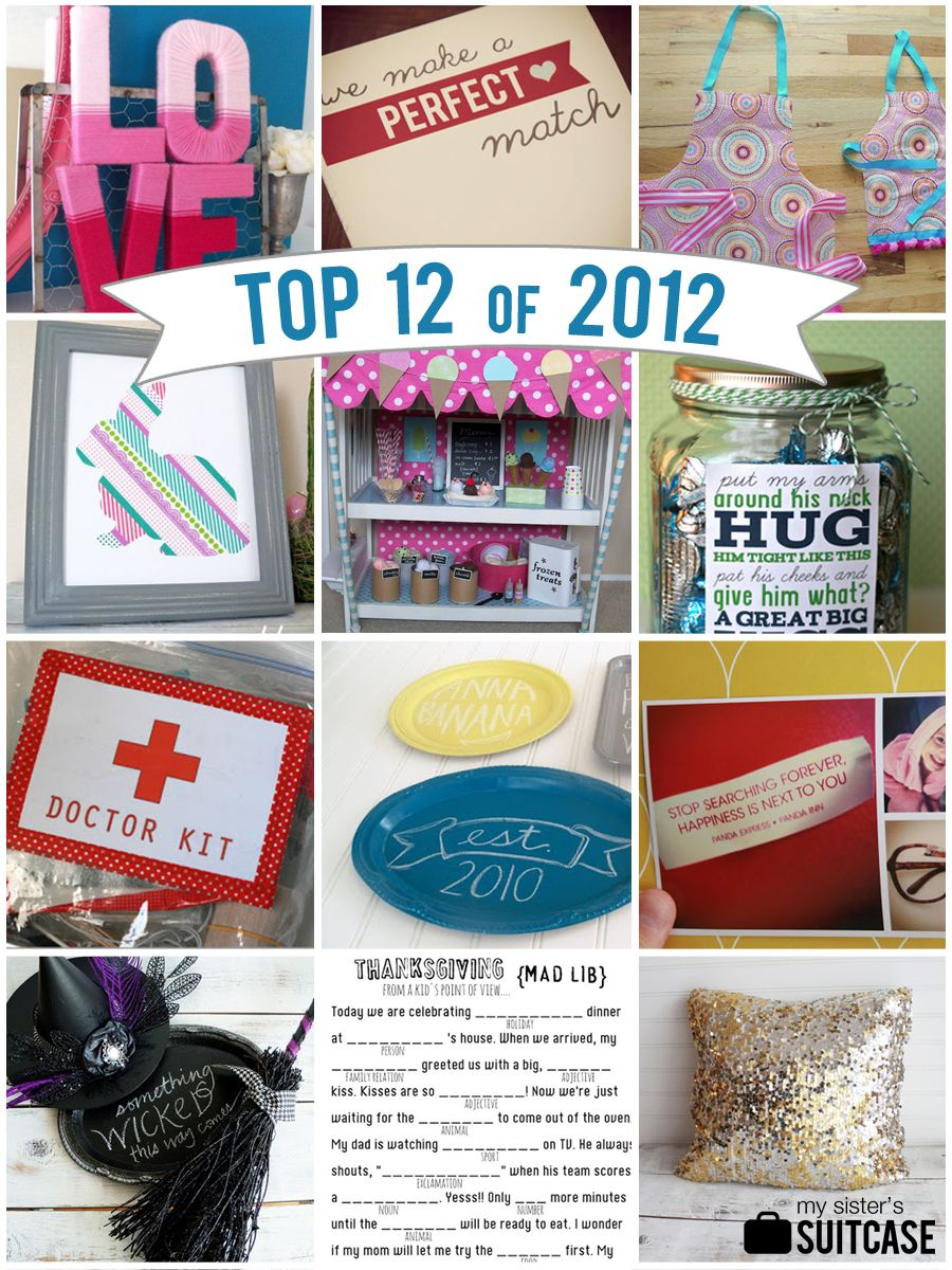 My Sister's Suitcase: Year in Review : Our Top 12 of 2012