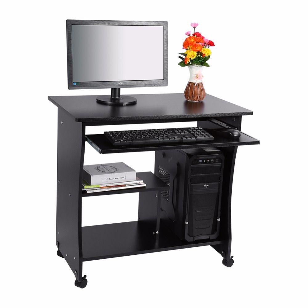 D Tude Domicile Mobilier De Bureau Table D Ordinateur Portable  # Table Ordi En Bois
