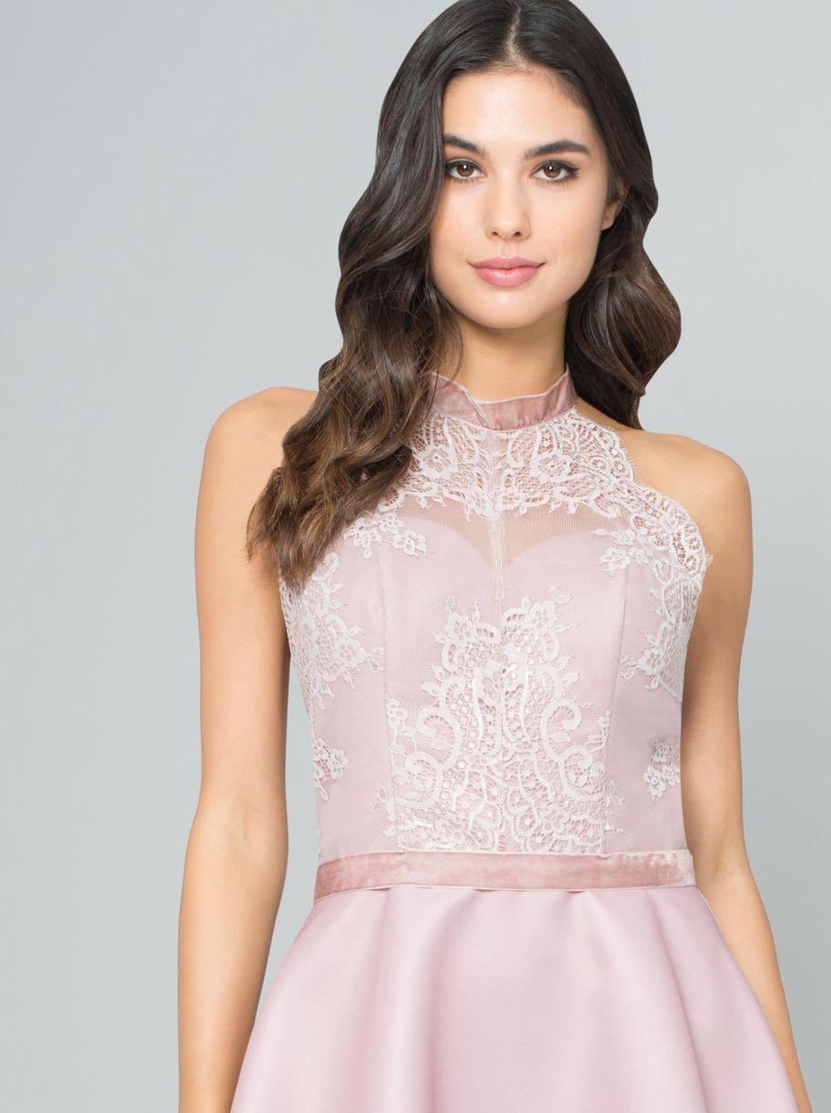 1d22ebff3214 Különleges alkalmi ruha Gyönyörű elegáns pasztell színű ruha különleges hát  megoldással. Kápráztass el mindenkit ebben
