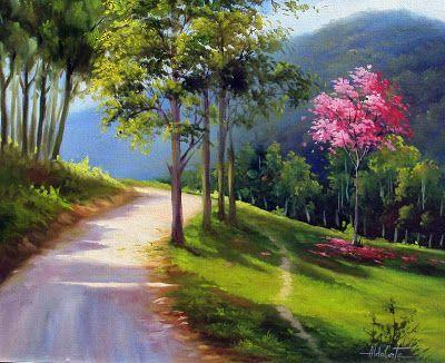 Trendy Painting Canvas Landscape Watercolors Ideas Resimler Manzara Resimleri Manzara