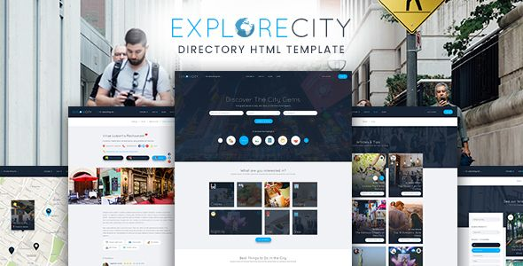 Explore City Directory Listing Html Template Https Themekeeper