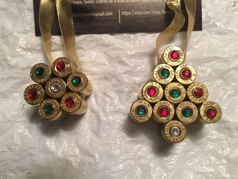 Christmas Ornaments Tree And Christmas Ball With Rhinestone Gems Made
