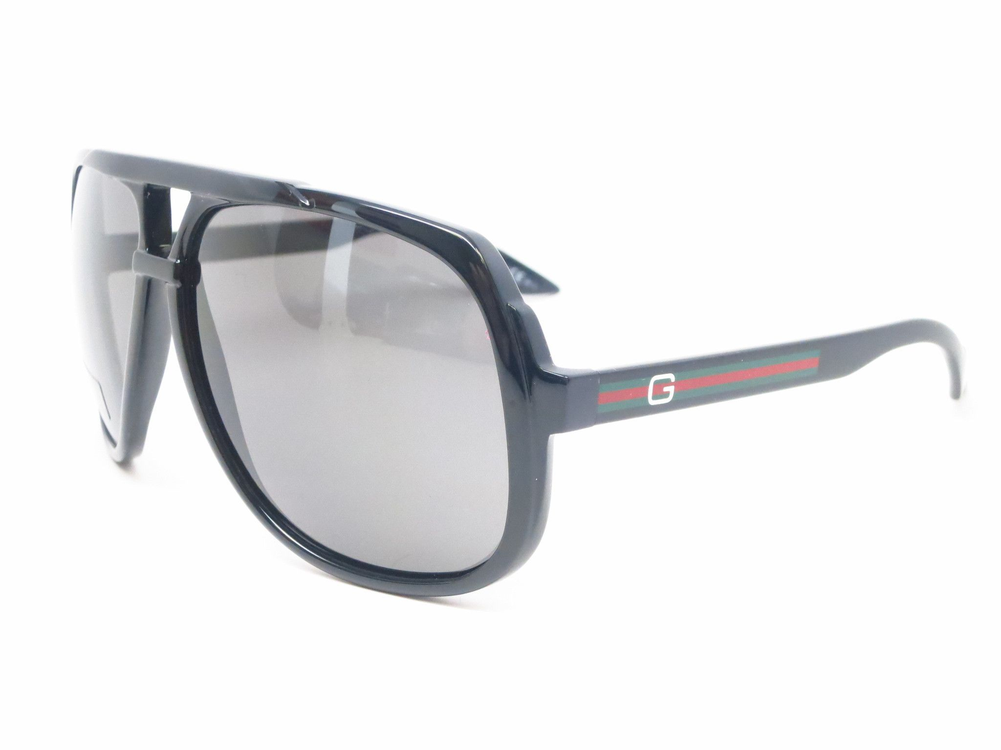 aab6efaa95067 Gucci GG 1622 GG1622 S Black D28R6 Sunglasses   All Things Mens ...