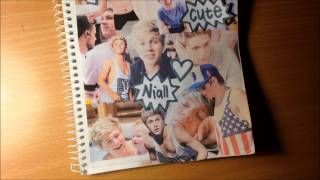 diy niall notebook cover