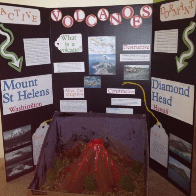Science Fair Idea - Volcano Project