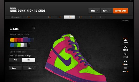 nike make your shoes