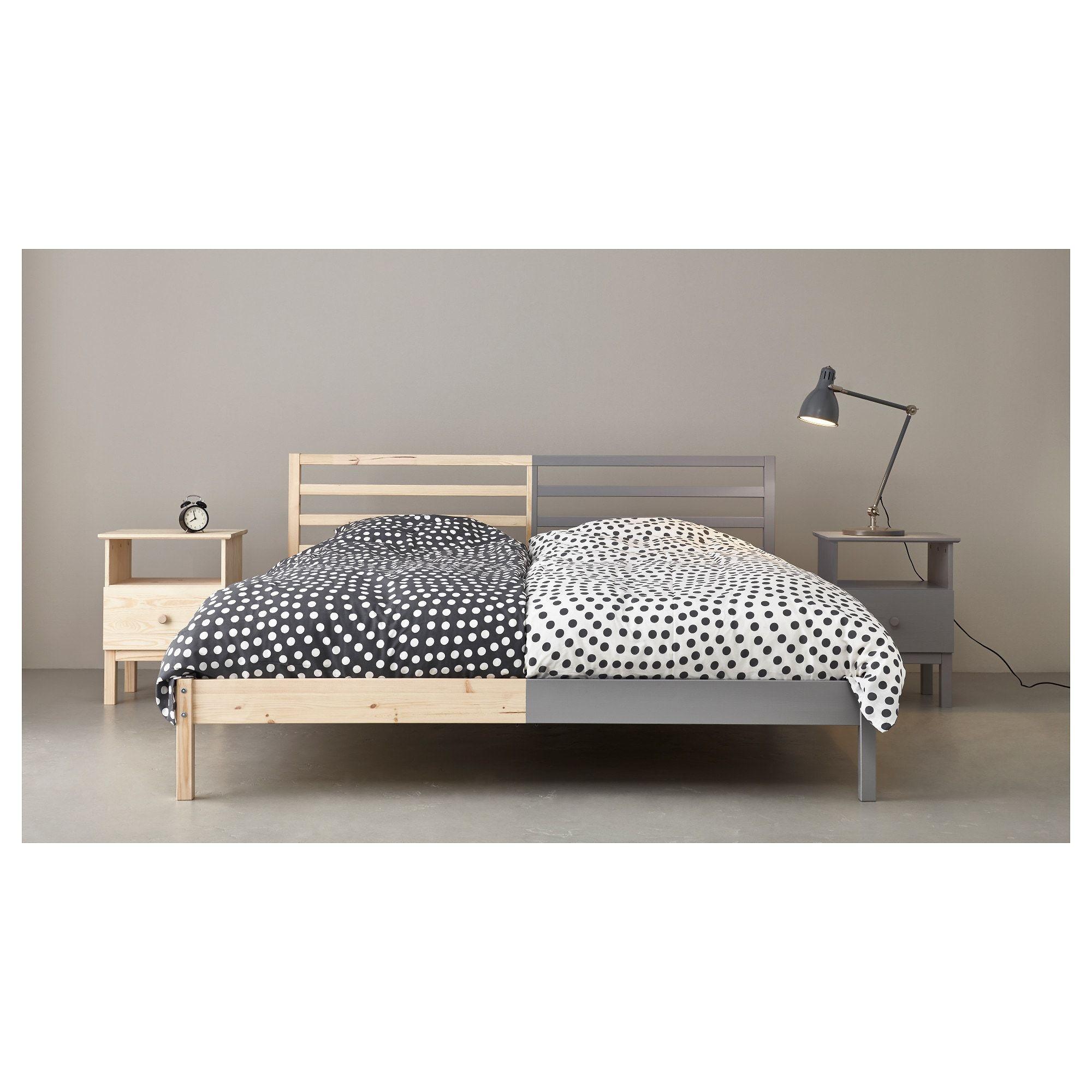 IKEA TARVA Pine, Luröy Bed frame Bed frame, Ikea bed