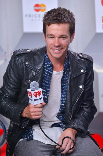 Nate Ruess - Backstage at the iHeartRadio Music Festival