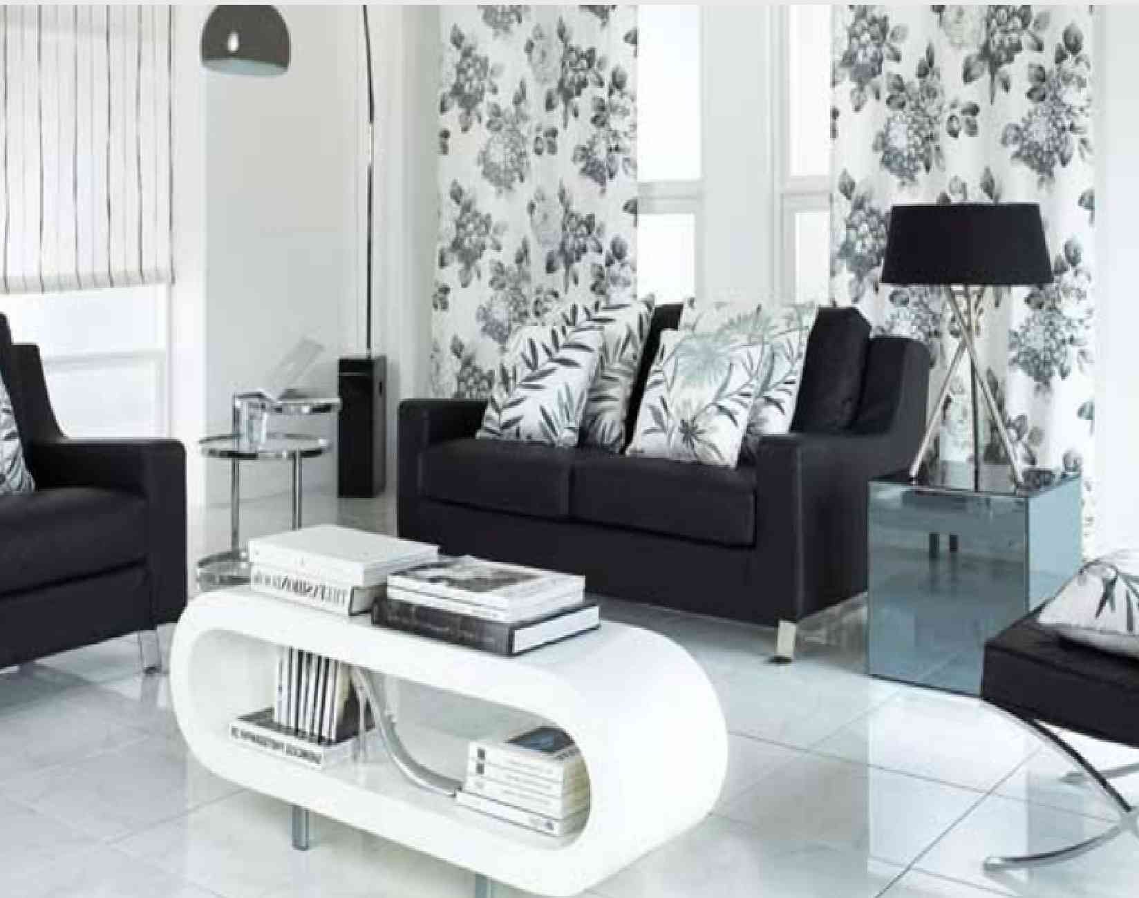 https://www.google.pl/search?q=black and. White HomesWhite InteriorsLiving  Room ...