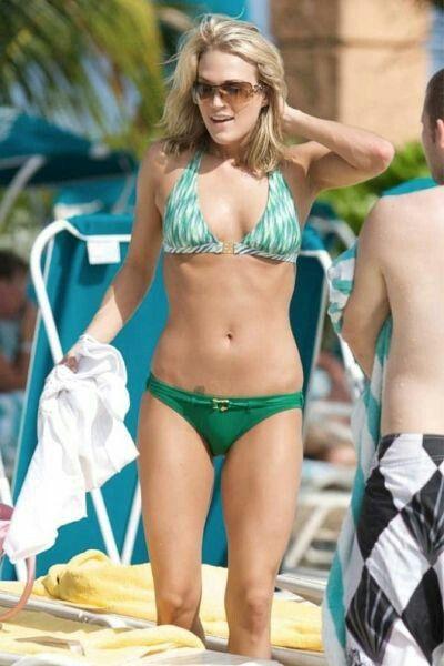 faithe hill in a bikini