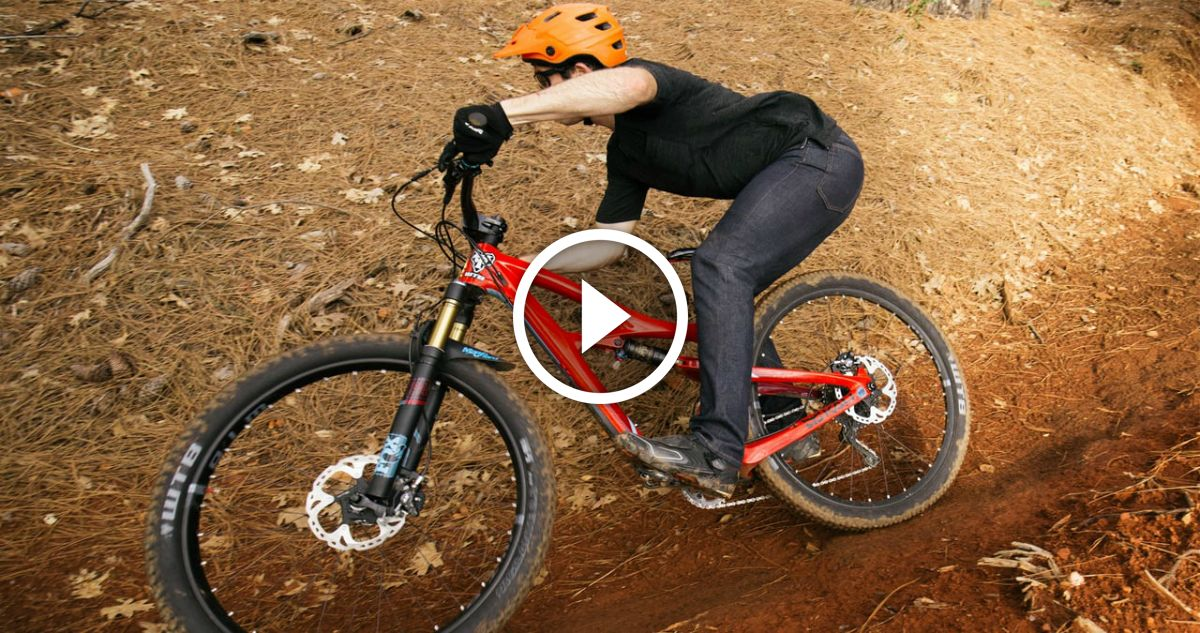 Watch: Jeff Kendall-Weed SHREDS the New Ibis Mojo 3.