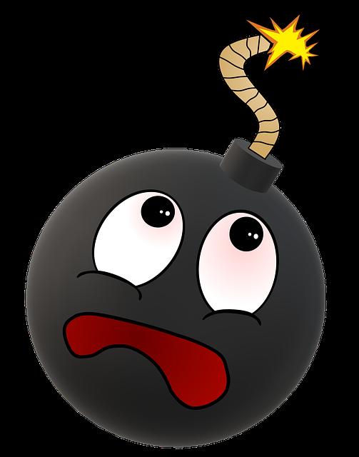 Free Image On Pixabay Smiley Bomb Bomb Explosion Emoji Lie To Me Explosion