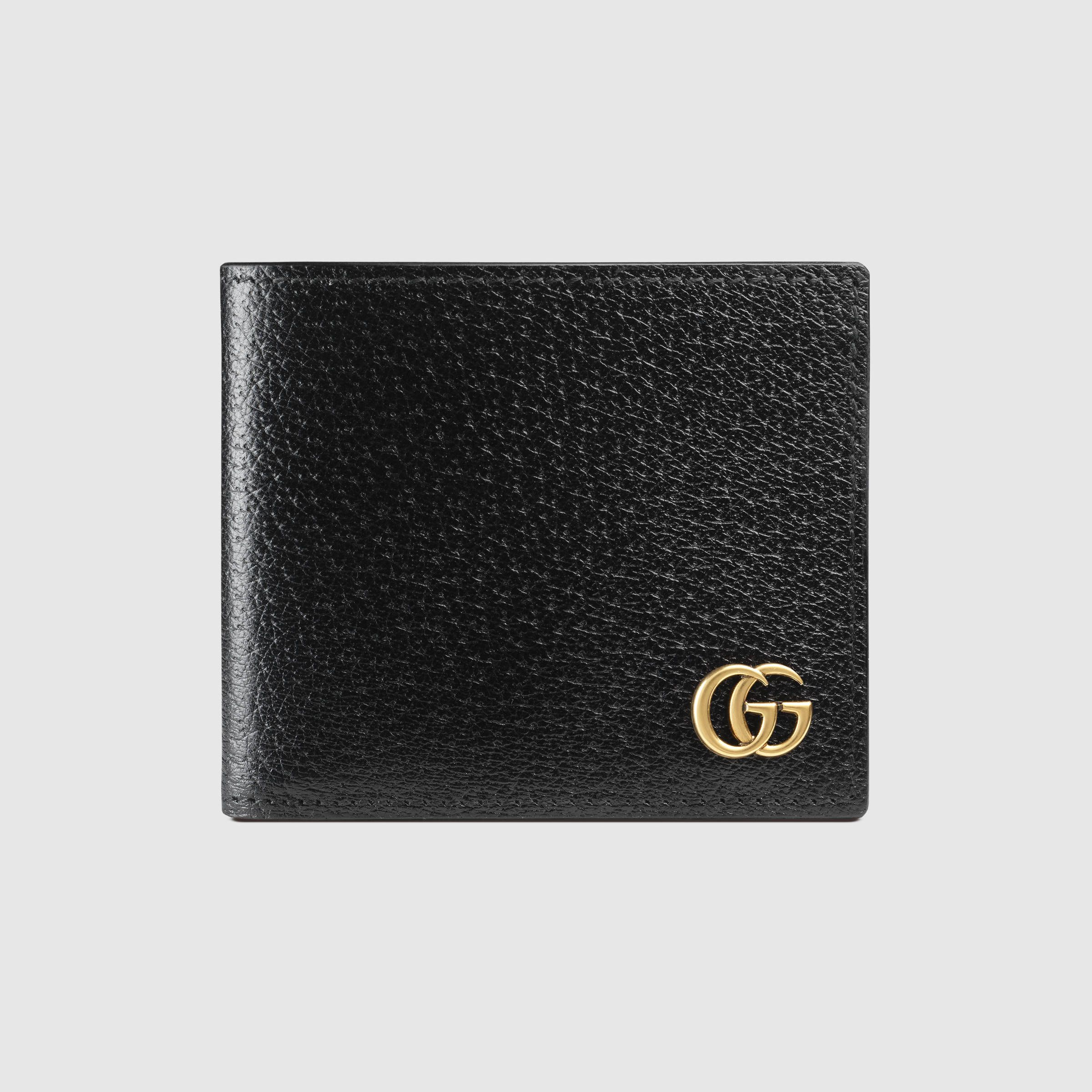 bdd51fa62d4 Gucci Men - GG Marmont leather bi-fold wallet - 428726DJ20T1000