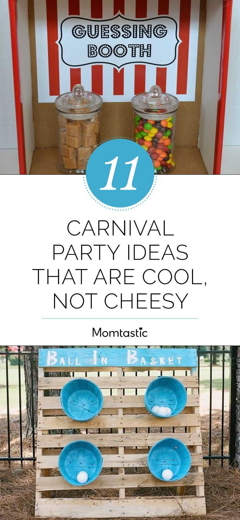 11 Carnival Party Ideas That Are Cool, Not Cheesy | Carnival parties ...