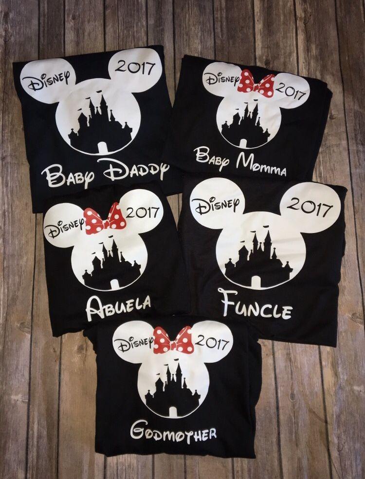 be39c6a2c Family Matching Disney Shirts Mickey Mouse Minnie Mouse Princess Castle  Disneyland Disney World Women Men Kids Baby Boy Girl Toddler Vacation  Custom ...