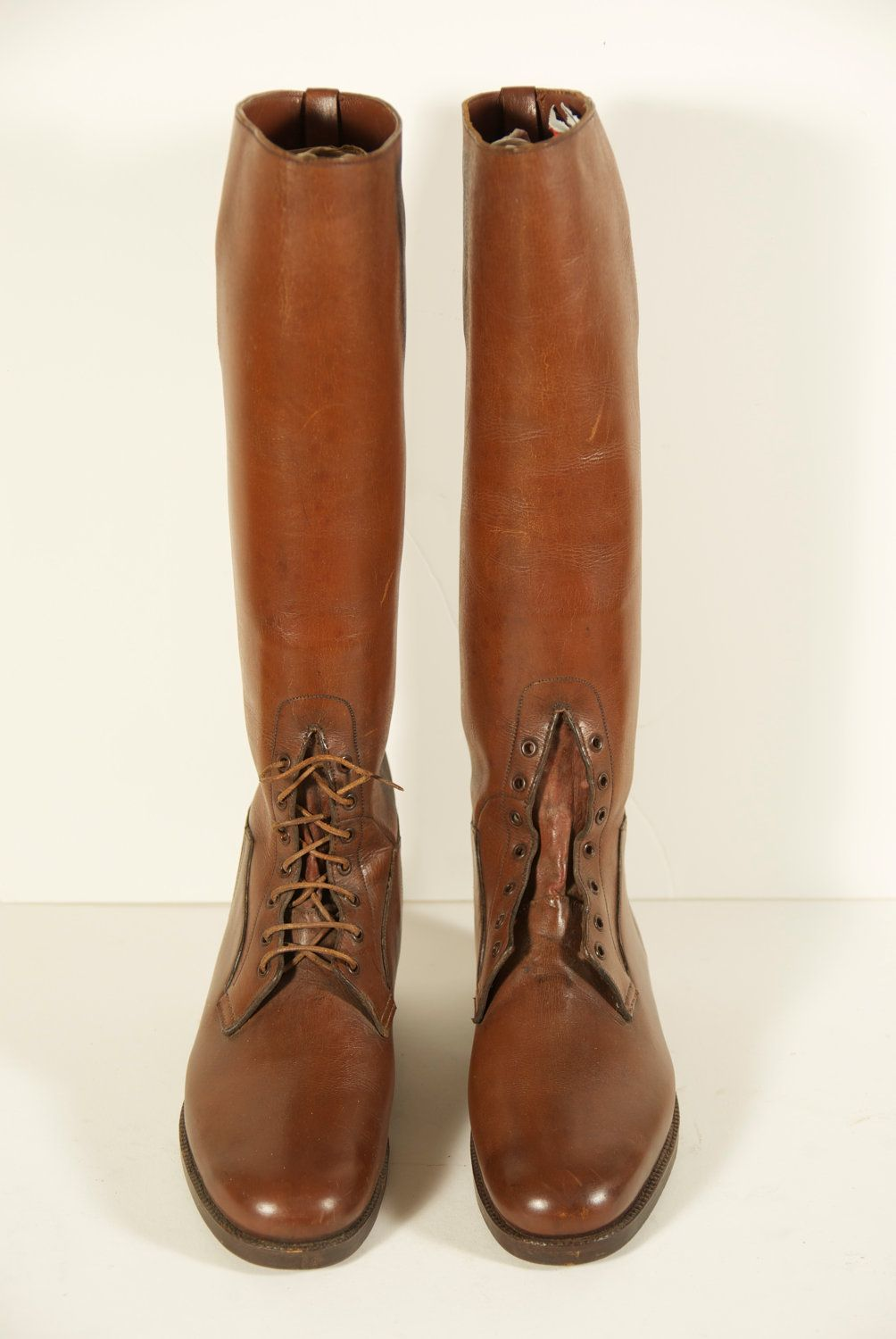 Vintage Dehner's Custom Made Men's Riding Boots