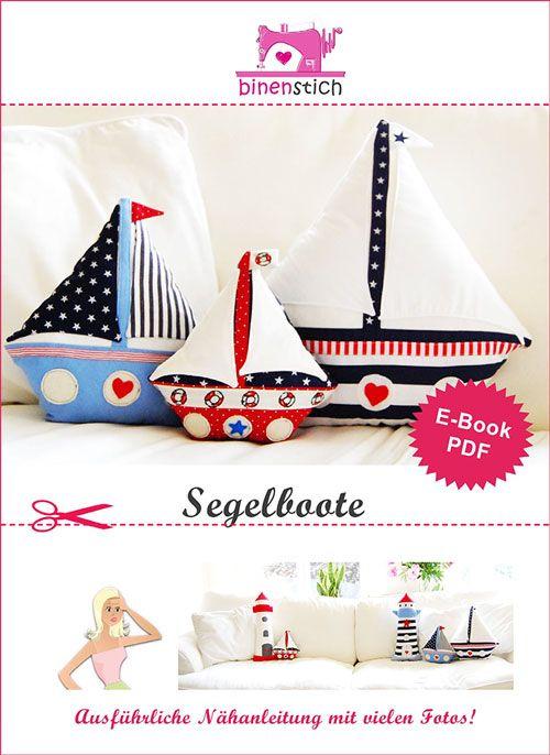 Segelboot nähen: Anleitung und Schnittmuster im Shop | binenstich.de ...