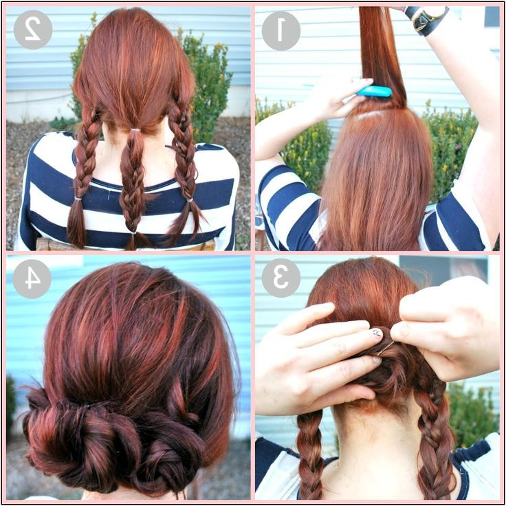 Quick And Easy Updo Hairstyles For Medium Length Hair | Top Pins ...