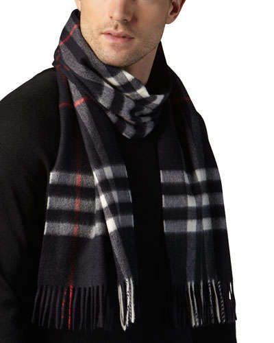N1A5S Burberry Cashmere Giant Icon Scarf 78ff2e69ea3