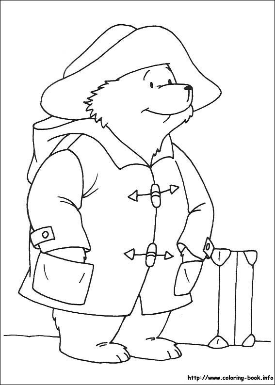 Paddington Bear Coloring Picture Bear Coloring Pages Paddington Bear Colouring Pages