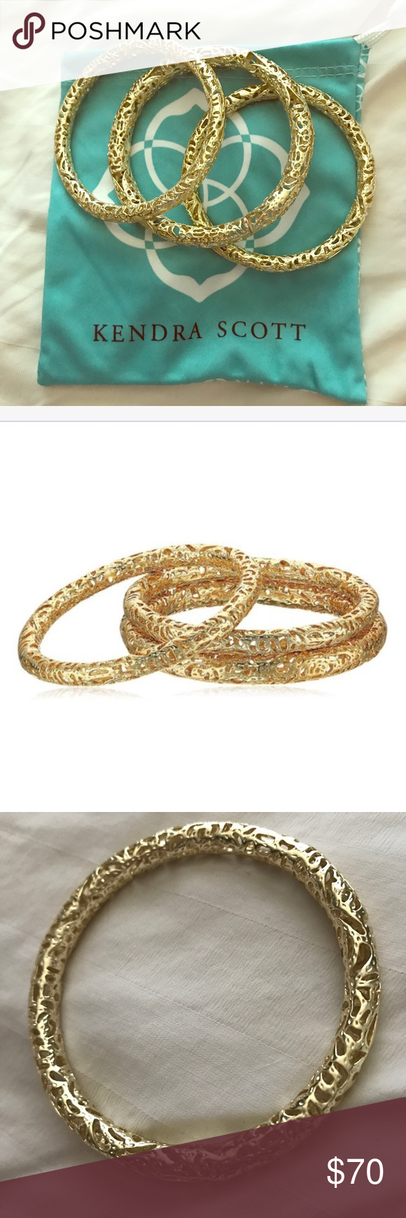 Sold kendra scott lucca bracelets lucca gold bangles and