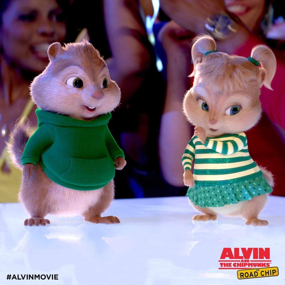 Alvin Nd Chippette Alvin And The Chipmunks Baby Chipmunk Chipmunks