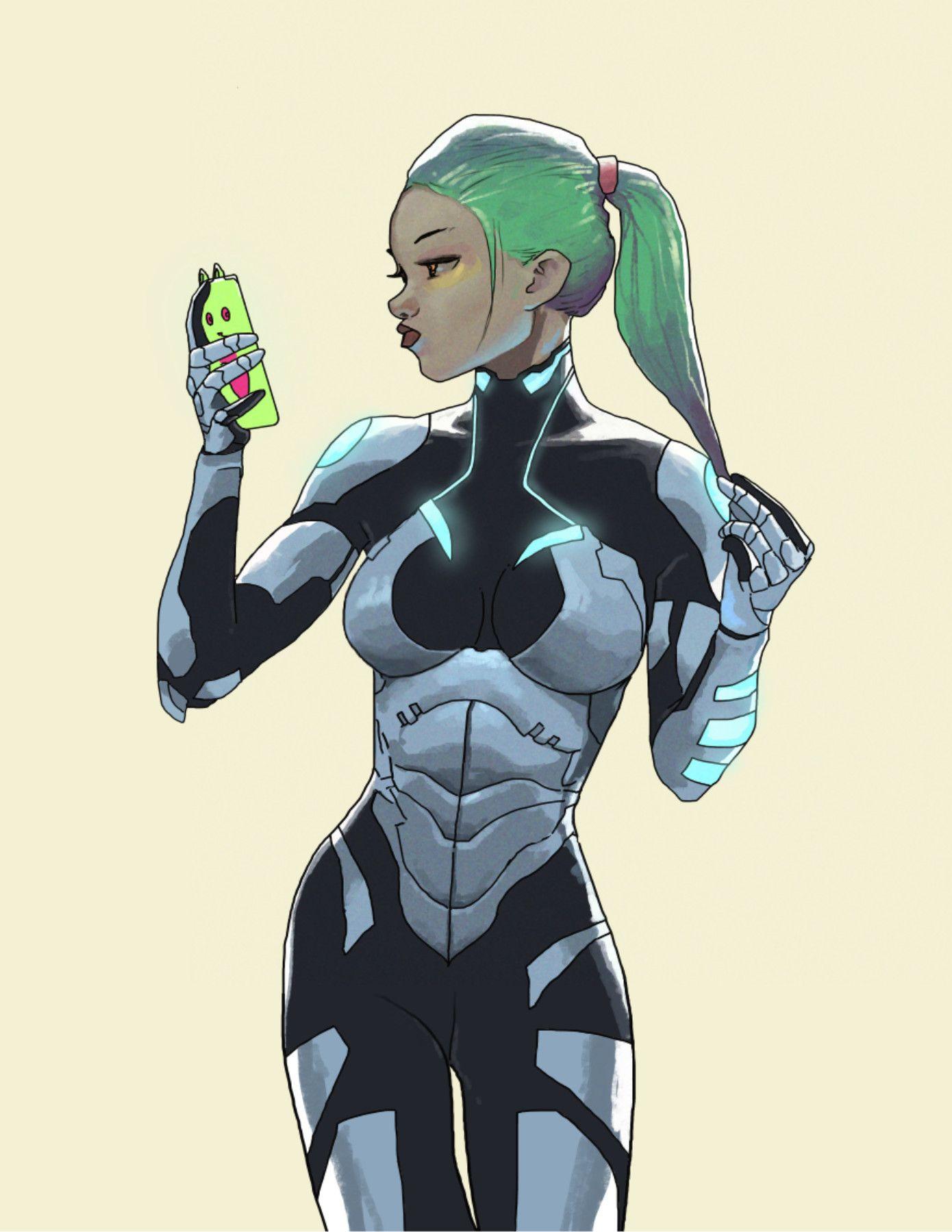 Gamora by Dave Seguin on ArtStation.
