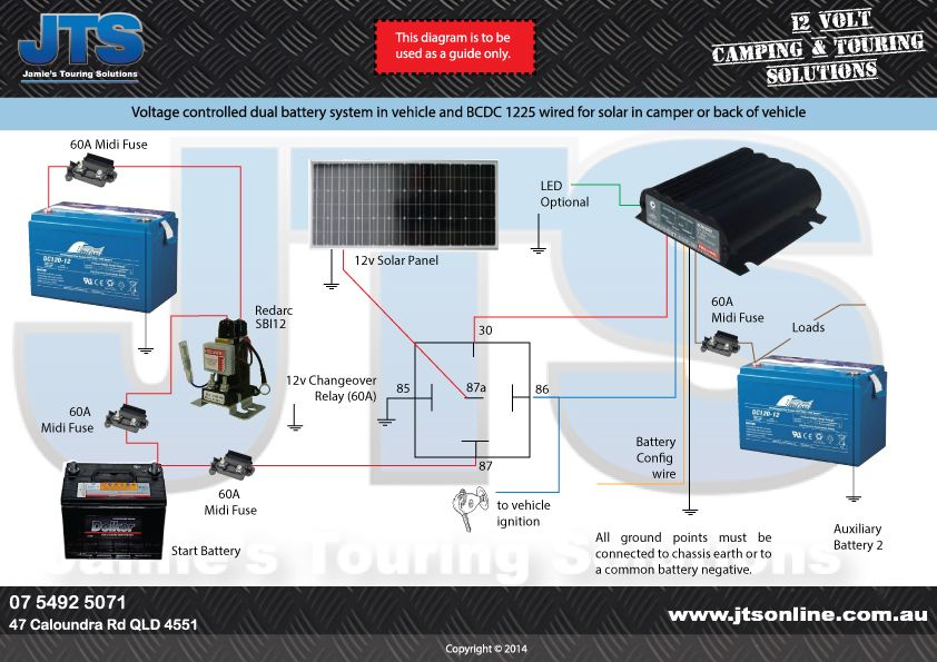 Camper Trailer Wiring Diagram: voltage-controlled-dual-battery-and-BCDC-1225_1.jpg (842×595 ,Design