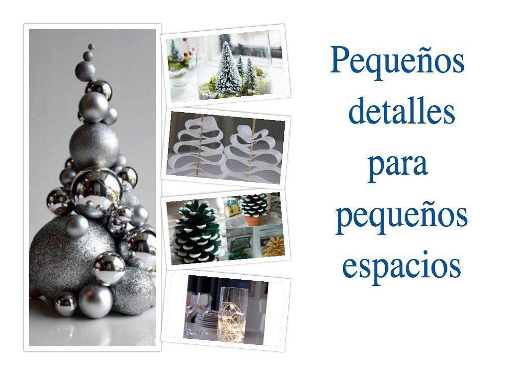 Decoraci n de navidad para casas peque as navidad ideas for Decoracion de habitaciones pequenas