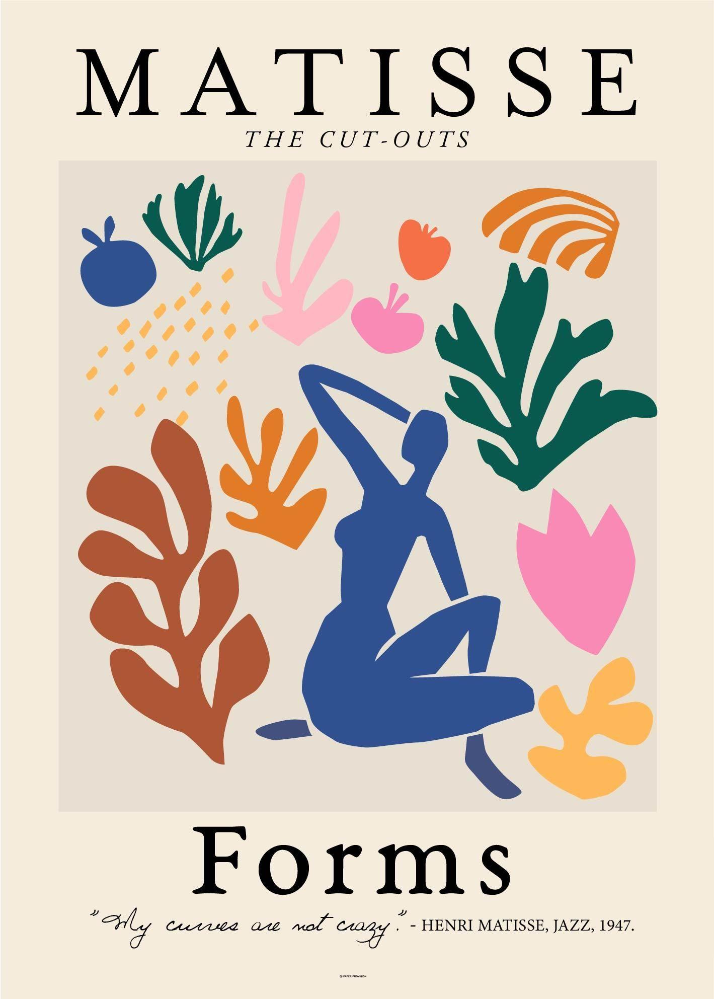 Matisse Forms - 50x70cm (20x28\)