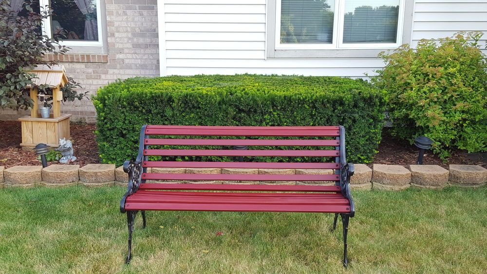 Outdoor Bench Makeover With Images Outdoor Bench Outdoor