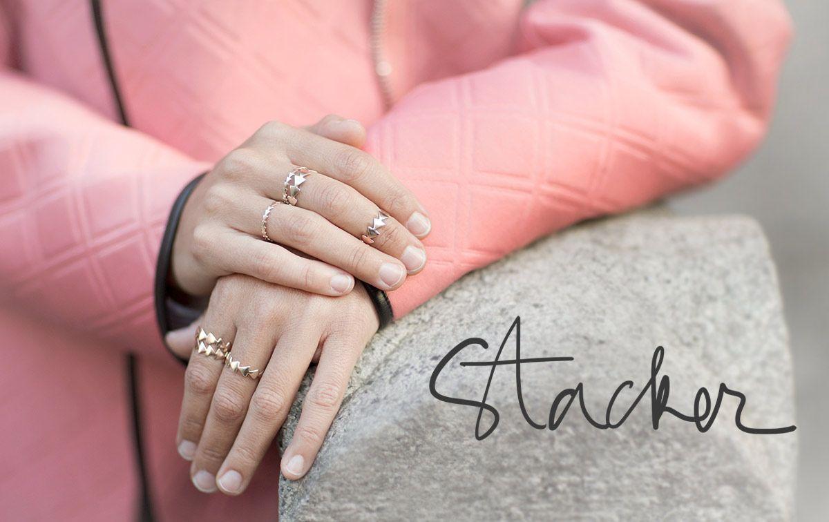 Stacker | Rashida jones, Jewel and Ring