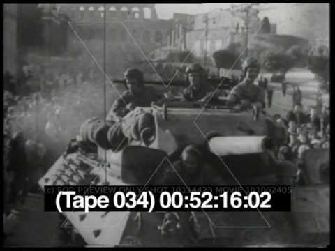 roma liberazione 1944 ww2 footage war footage 1943 44 pinterest