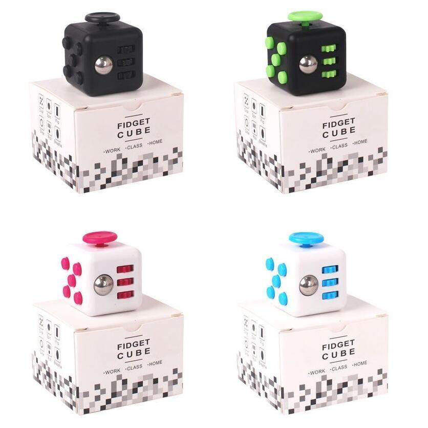 Size 3.3*3.3cm Fidget Cube a Vinyl Desk Toy Anti-Irritability ...
