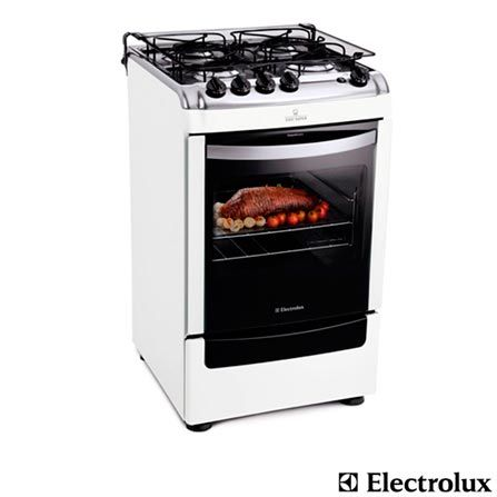 Fogao De Piso 4 Bocas Super Chef Electrolux Fastshop Com Br Kitchen Kitchen Appliances Electrolux