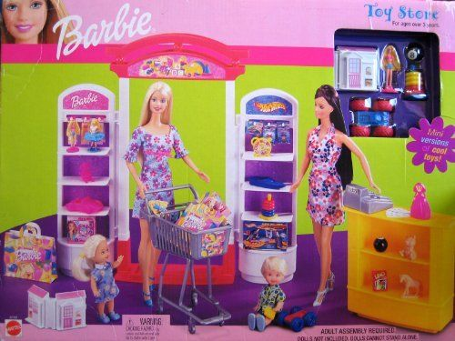 Barbie Toy Store Playset w Mini Toys! (2002) by Mattel. $149.99
