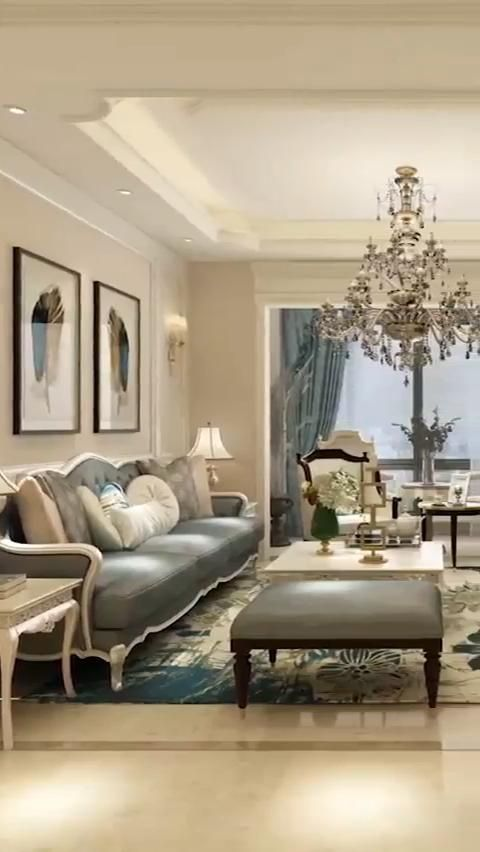 Photo of Luxury Living Room Interior Design