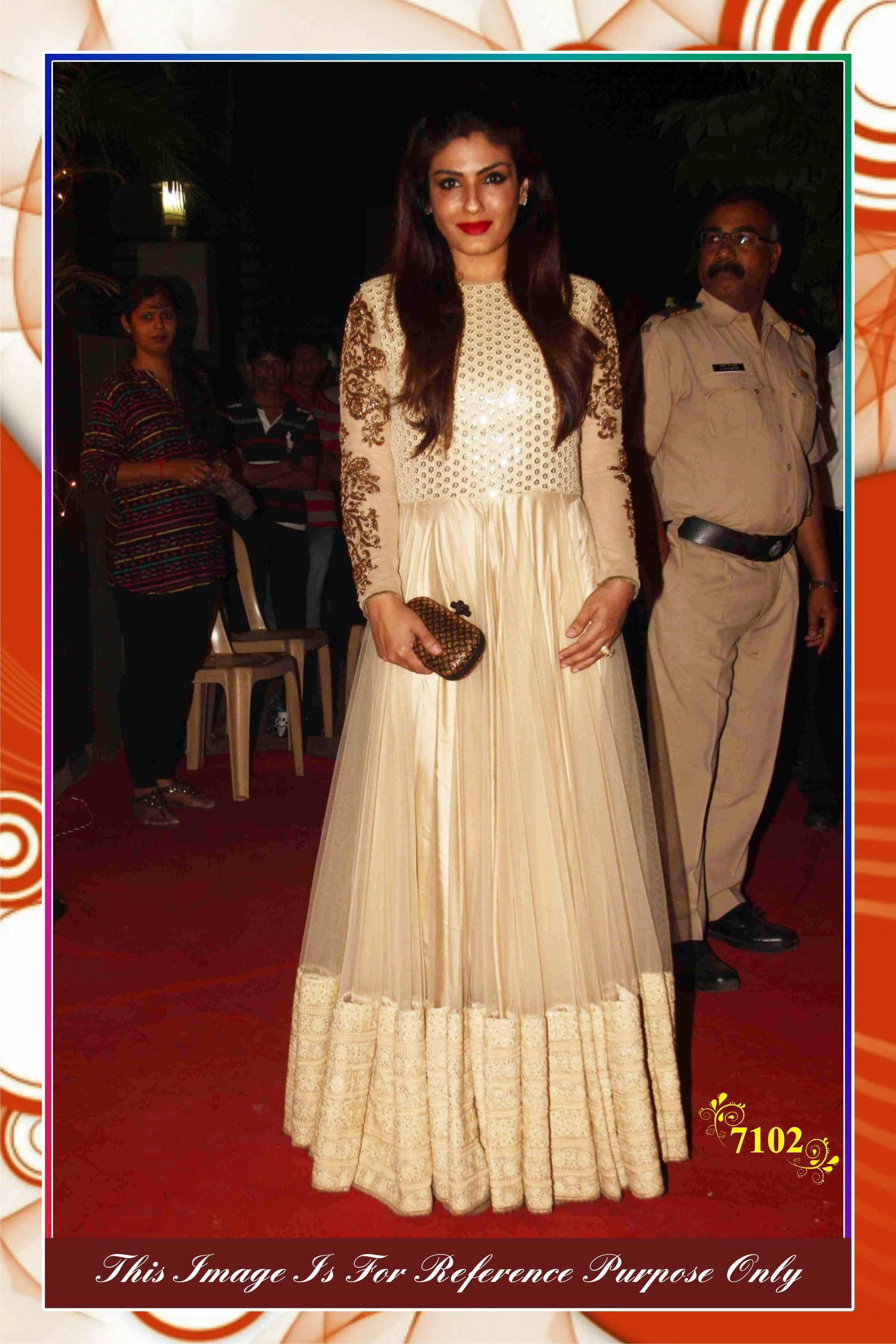 ae7a73f86c Bollywood Replica Dress in cream colour-7102 - Online Shopping Marketplace  Shopdrill.com